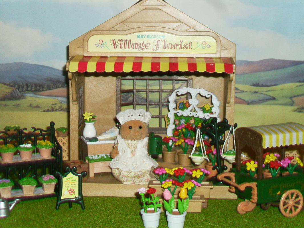 may blossom the village florist sylvanian families