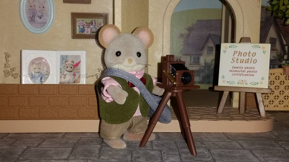 Sylvanian Families UK Photo Studio Cecil Mace Photographer JP EPOCH Flair Tomy