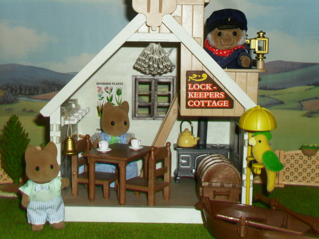 Sylvanian Families Lock Keepers Cottage UK