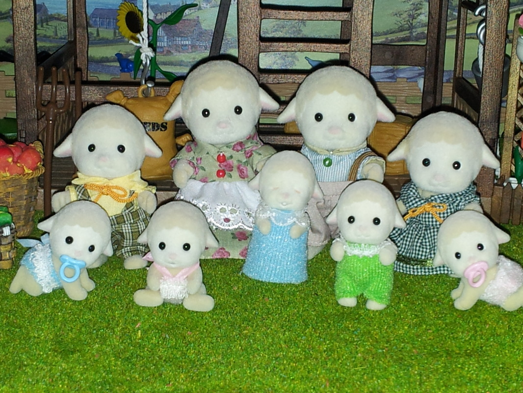 Sylvanian Families Dale Sheep Family UK