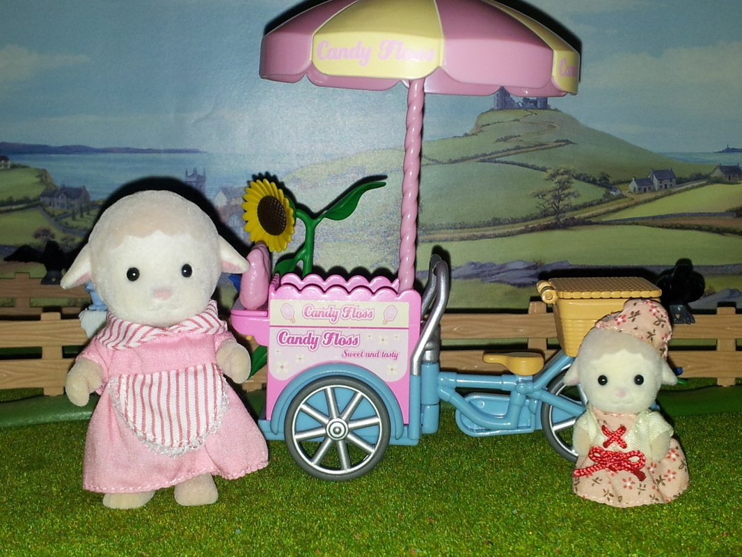 Sylvanian Families UK Dolly Dale Sheep Auntie